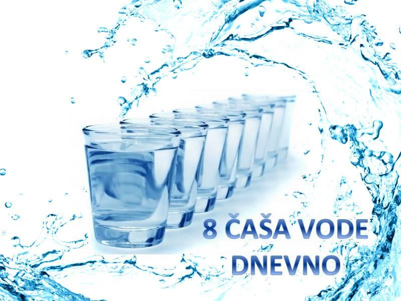 Koliko vode treba piti dnevno?