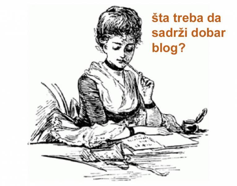 Šta treba da sadrži dobar blog članak