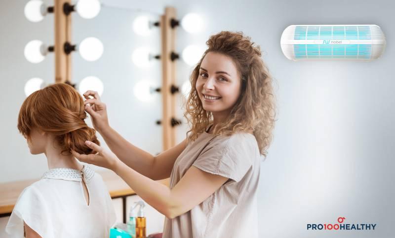 Zašto je potreban prečišćivač vazduha u frizerskim salonima?