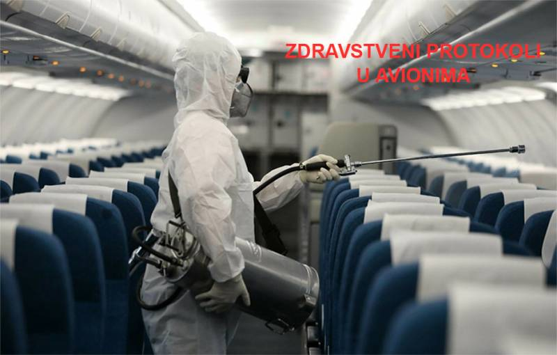 Zdravstveni protokoli na privatnim avionskim letovima