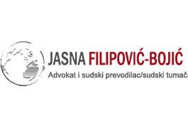 Advokat i sudski tumač Jasna Filipović-Bojić