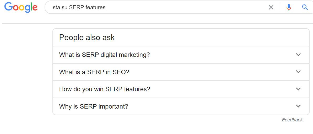 Google serp pitanja