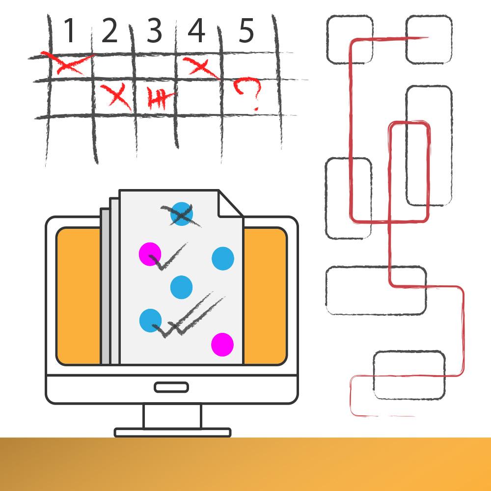 Content marketing skica i kalendar