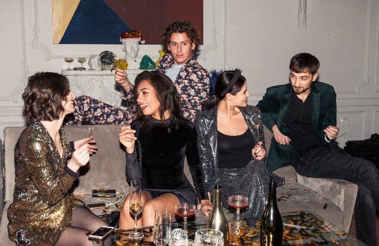 Društvo na žurci