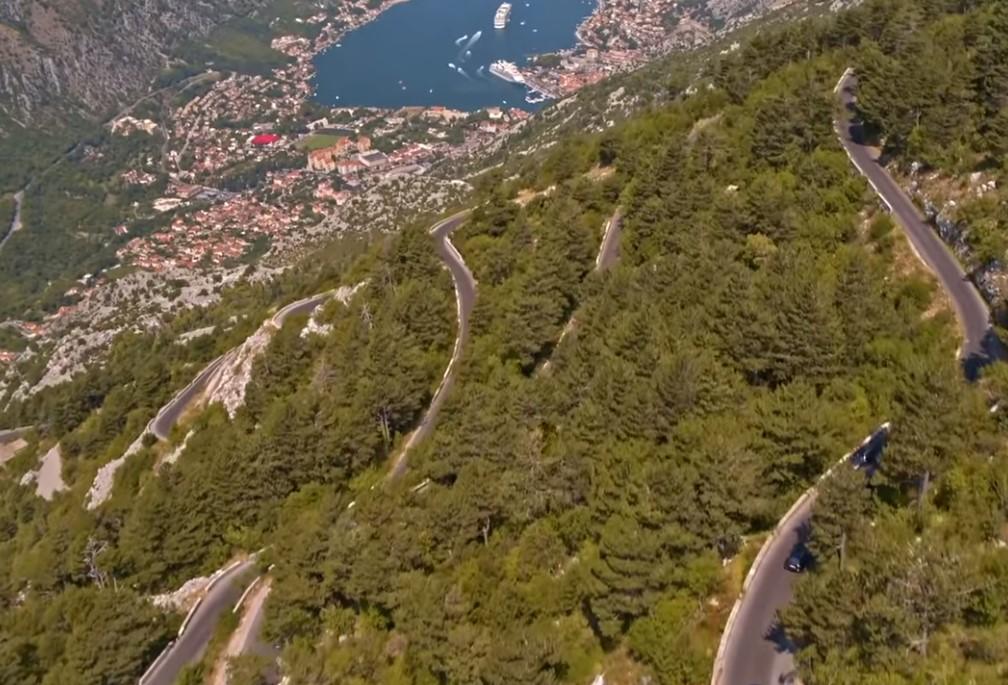 Crna Gora putevi serpentine