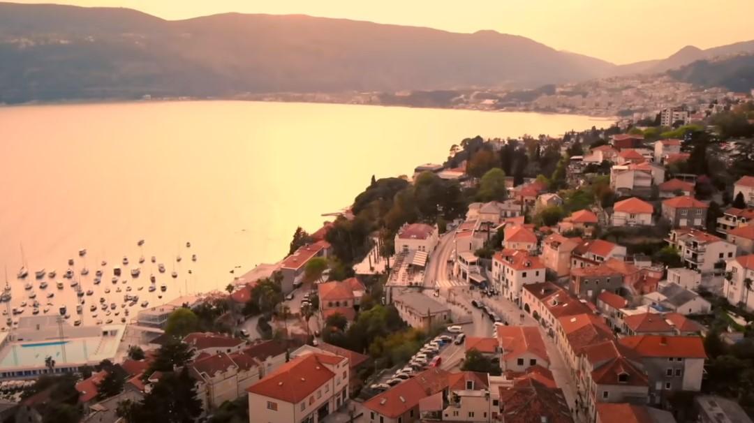 Crna Gora zaliv suton